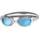 Zoggs Predator Flex Goggle Grey/White/Tint